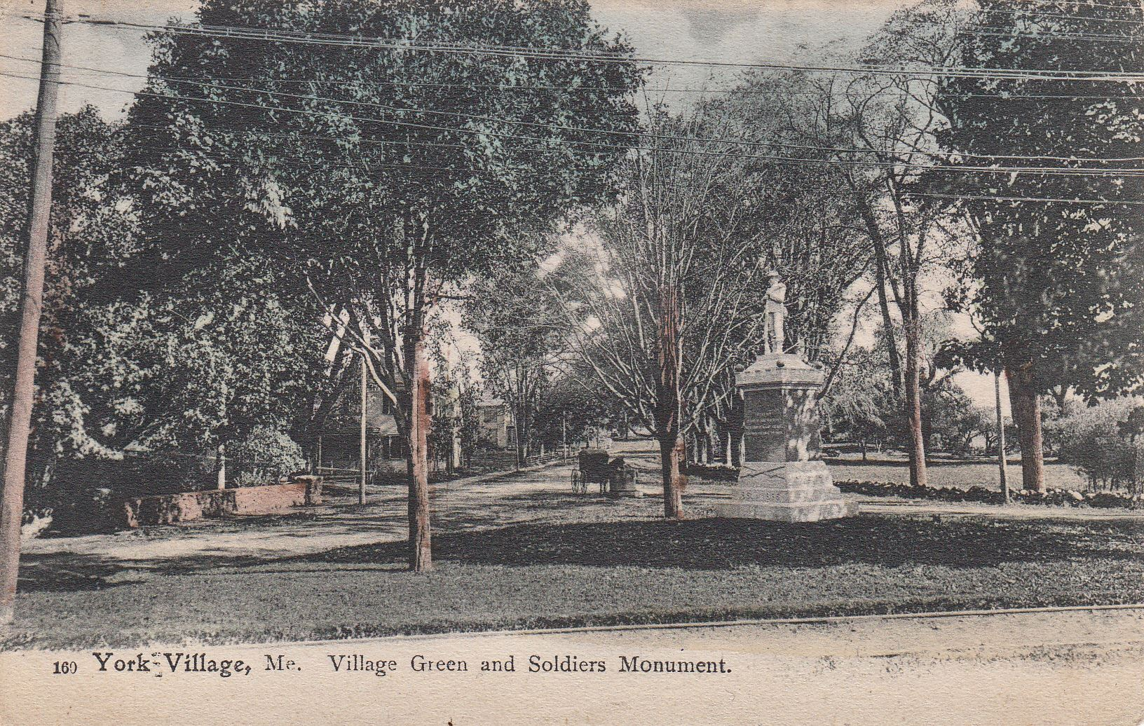 Village Green and Soldiers Monument